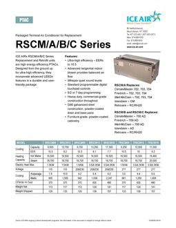 RSCM/A/B/C Product Sheet