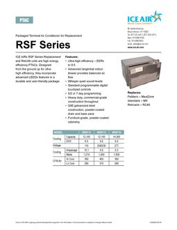 RSF Product Sheet
