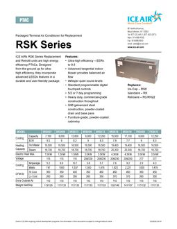 RSK Product Sheet
