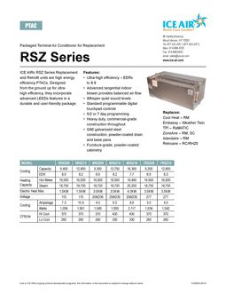 RSZ Product Sheet