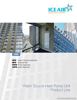 WSHP Product Line Brochure