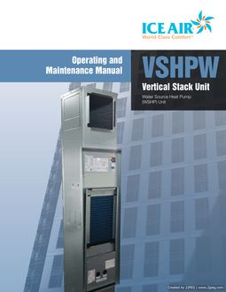 WSHP: Vertical Stack – O&M Manual