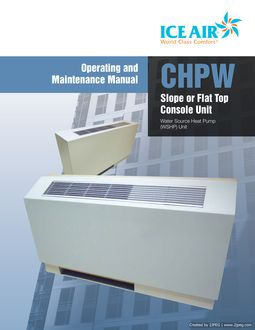 WSHP: Console – O&M Manual