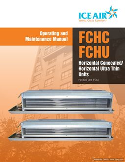 FCU: FCFC/FCHU Horizontal – O&M Manual