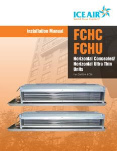 FCU: FCFC/FCHU Horizontal – Installation Manual