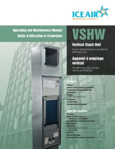 HWCAC: Vertical Stack – O&M Manual (English/French)