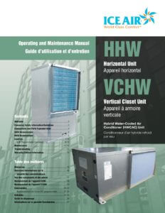 HWCAC: Horizontal and Vertical Closet – O&M Manual (English/French)