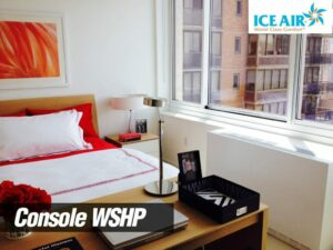 Ice Air - Installations - Console WSHP - bedroom