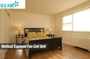 Ice Air - Installations - Vertical Exposed Fan Coil Unit - bedroom