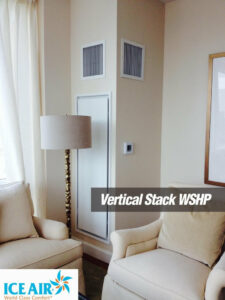 Ice Air - Installations - Vertical Stack WSHP - livingroom 1