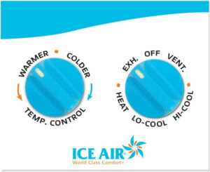 Ice Air - Product - AccuZone Thermostat - Manual Controls