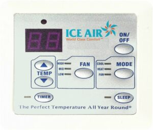 Ice Air - Product - AccuZone Thermostat - Standard Digital Touchpad