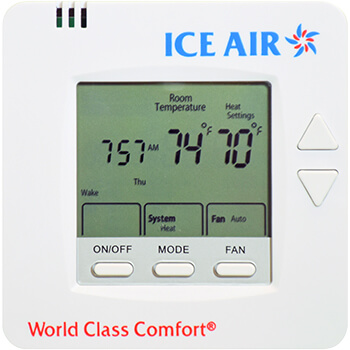 Ice Air - Product - AccuZone Thermostat - Digital LCD Thermostat