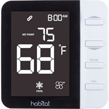 Ice Air - Product - AccuZone Thermostat - Habitat Thermostat