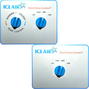 Ice Air - Thermostats - Manual Temperature and Fan Speed Dial Thermostat