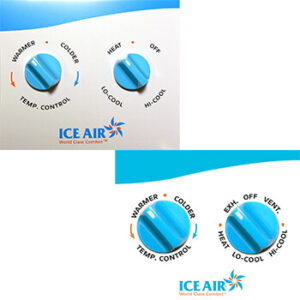 Ice Air - Thermostats - Manual Temperature and Mode Dial Thermostat