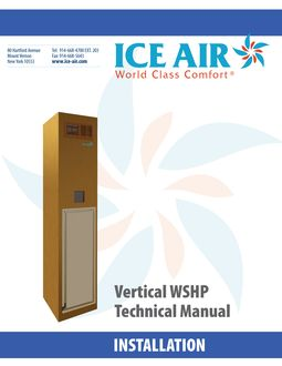 WSHP: Vertical Stack – Installation Manual