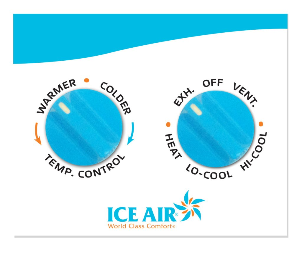 Ice Air Manual Controls ThermostatSMB3